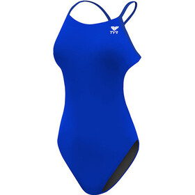 TYR Solid Cutoutfit Swimsuit Women royal